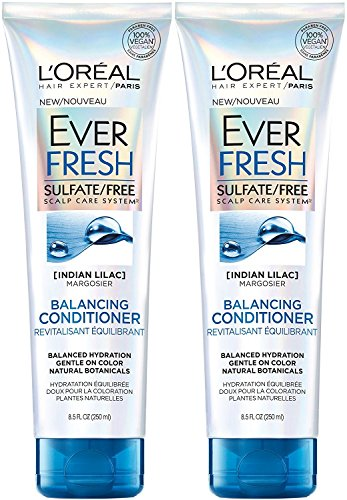 Price comparison product image L'Oreal Paris EverFresh Balancing Conditioner Sulfate-Free, 8.5 Fluid Ounce (Pack of 2)