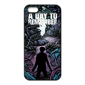 Danny Store 2015 New Arrival TPU Rubber Coated Phone Case Cover for iPhone 5 / 5S - A Day To Remember
