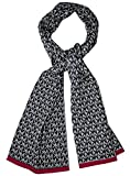 Michael Kors Derby Knit Scarf Gray Womens Small MK Signature