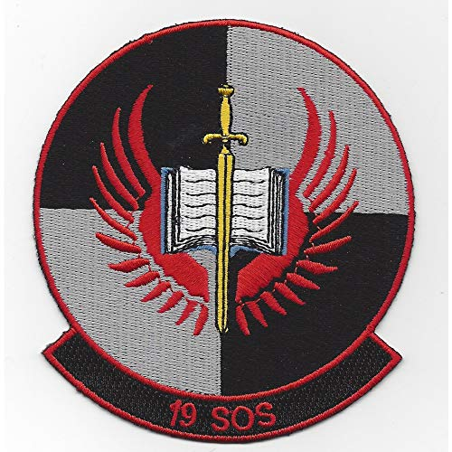 (19th SOS Special Operations Squadron Patch )