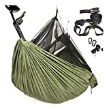 "Are You Looking For A Quality Hammock That Won't Rip When You Need It? Have you tried cheap ""parachute nylon"" hammocks, or other models and found them dangerously unstable, heavy, or prone to ripping? Serious outdoor people know how important reliabi..."
