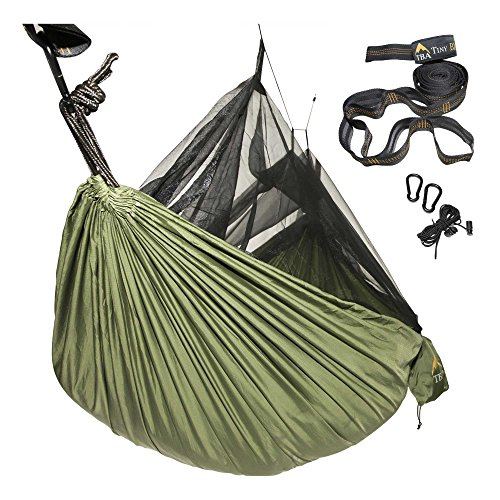 Price comparison product image Eclypse II Camping Hammock Professional Grade Ripstop Nylon Strength - Ultra Light and Durable – Tree Friendly Straps and Bug Net For Backpacking, Hiking