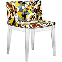 Mod Made Modern Contemporary Floral Accent Chair, Floral