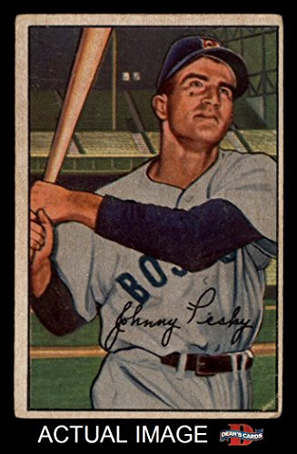 1952 Sox Boston Red - 1952 Bowman # 45 Johnny Pesky Boston Red Sox (Baseball Card) Dean's Cards 3 - VG