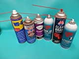 """20 LPS WD40 Red Straws Tube 6 """" Spray Can Nozzel"""