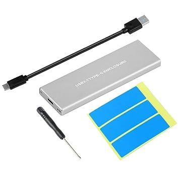 ETbotu USB3.1 - Funda para Disco Duro NVMe PCIE HDD M.2 a USB Tipo ...