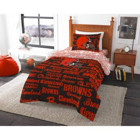 Bed-in-a-Bag Cleveland Browns Complete Bedding Set Twin