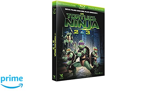 Les Tortues Ninja 2 & 3 : Le secret de la mutation + Les ...