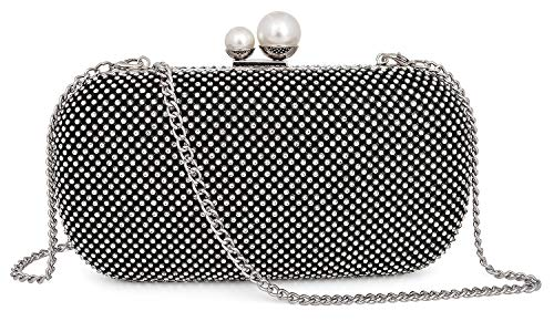 Mossmon Crystal Clutch Luxury Rhinestone Women Evening Bag -