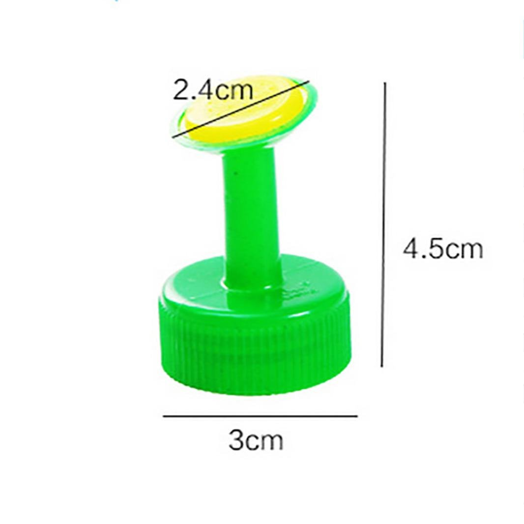 Iuhan Clearance! Bottle Cap Sprinkler, Bottle Top Watering Spout Bonsai Watering Can for Indoor Seedlings (Blue) Iuhan ®