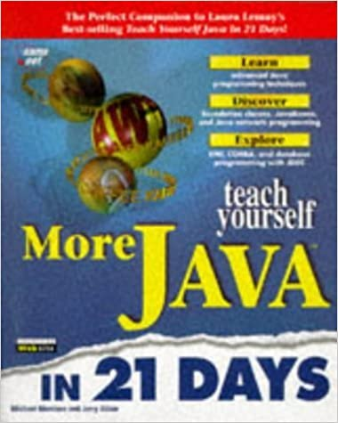 Teach Yourself More Java in 21 Days (Sams Teach Yourself...) by Ablan, Jerry, Morrison, Michael (1997)