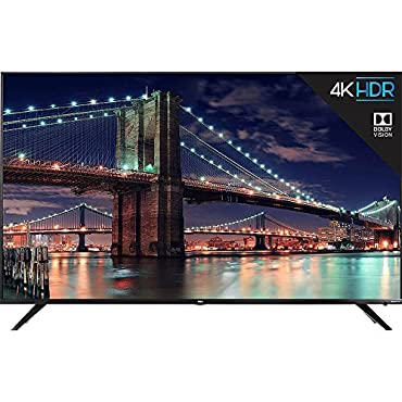 TCL 65R617 65 4K Ultra HD Roku Smart LED TV (2018 Model)