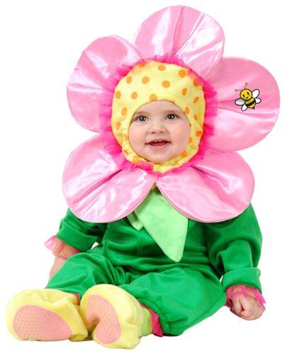 Charades Little Flower Baby Costume, Newborn