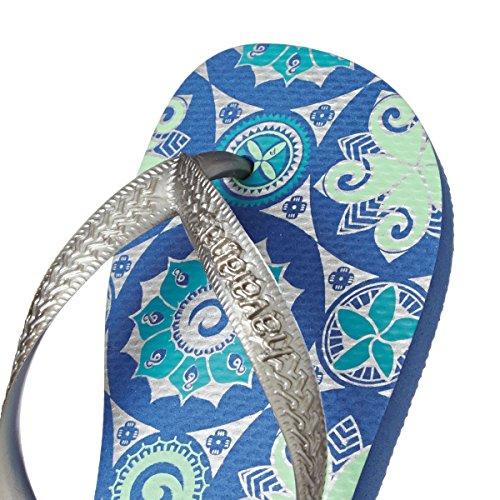 Havaianas Flops Print Blue Flip Light XXwr7q