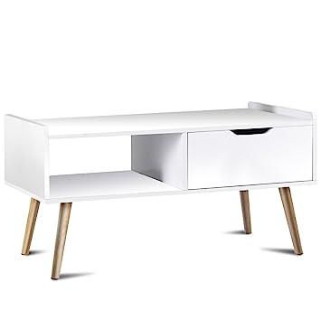 Amazon Com Giantex Coffee Table Tv Stand End Table Living Room