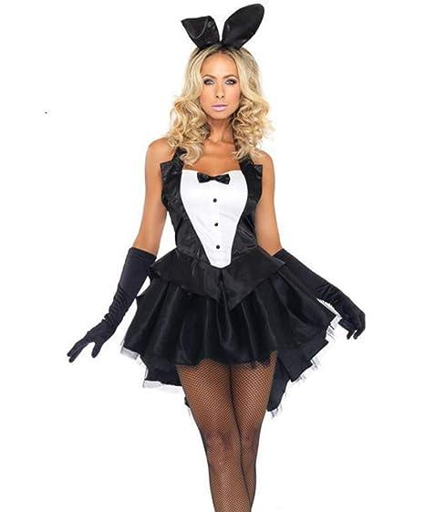 WYYSYNXB Mujer Falda Halloween Ropa Vestido Traje de Conejo ...