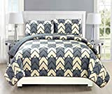 Mk Collection Bedspread Coverlet Quilted Modern