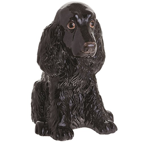 John Beswick JBMBA9 Cocker Spaniel Black Dog Money ()