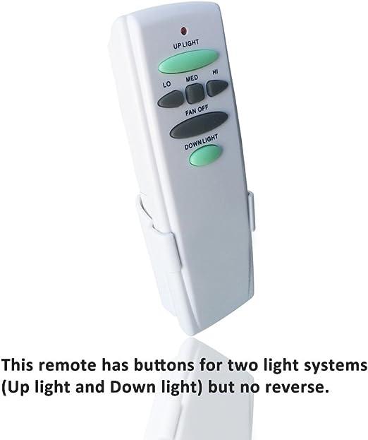 Ventilador de techo inalámbrico digital mando a distancia ...