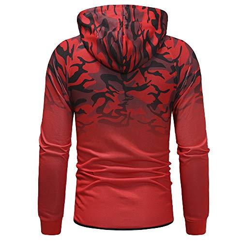 Manteau Luoluoluo Tout Outdoor Imprimé Pantalon match Printemps Sporthose Homme Sweat Mode Costume Décontractée Ensemble Casual shirt Confortable Rouge Eté RBR6qw