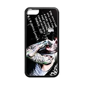 SANYISAN Rockband Suicide?Silence Cell Phone Case for Iphone 5C