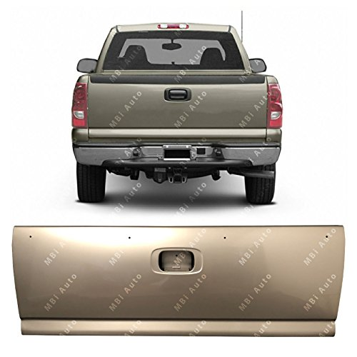 Painted to Match Steel Tailgate W//Assembly for 1999 2000 2001 2002 2003 2004 2005 2006 Chevy Silverado /& GMC Sierra Pickup 99-06 MBI AUTO GM1900124