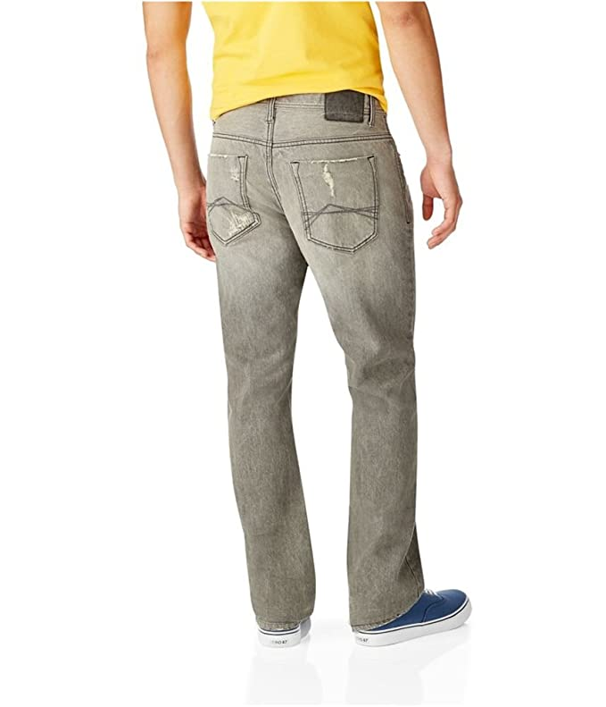19c3ae6f Aeropostale Mens Essex Straight Leg Jeans at Amazon Men's Clothing store: