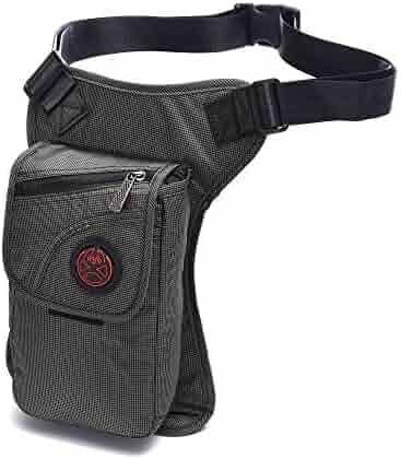 Military Tactical Drop Leg Bag,Hiking Waist Bag Fanny Thigh Packs Versipack For Riding Motorcycle Walking Cycling Vacation Man Women