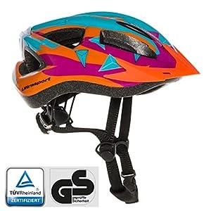 51WFrHwZBML. SS300 Ultrasport Casco LED da Ciclismo, Protezione Mentre Si Va in Bici o Si Praticano Altre attività Outdoor, Comodo Grazie…