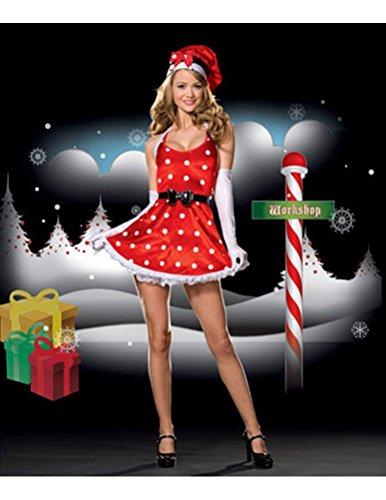 [Holiday Pinup Large] (Holiday Pin Up Costumes)