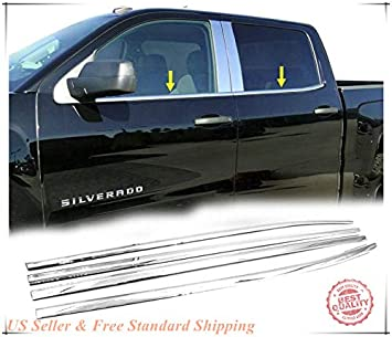 14~2018 Chevy Silverado 1500 GMC Sierra Chrome Door Handle Mirror Tailgate Cover