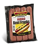 Red Hot Chicago Jumbo Beef Franks 9 lbs. 48 count