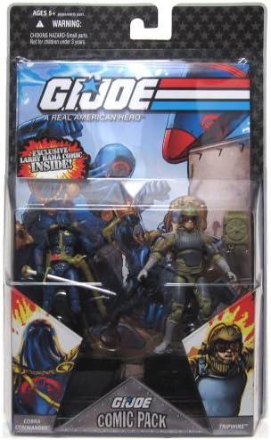 JOE A real american hero COMIC 2-Pack Commander /& Tripwire I 2008 G