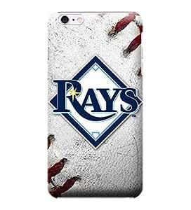 iPhone 6 casos, MLB - Tampa Bay Rays balôn - iPhone 6 casos - Alta calidad funda