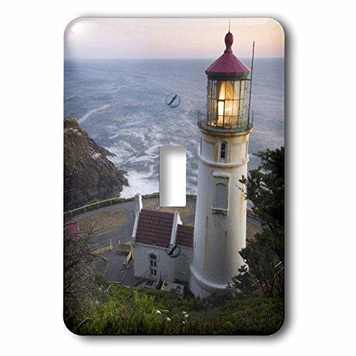 3dRose lsp_94104_1 Haceta Head Lighthouse, Oregon, Usa Us38 Rkl0018 Raymond Klass Single Toggle Switch