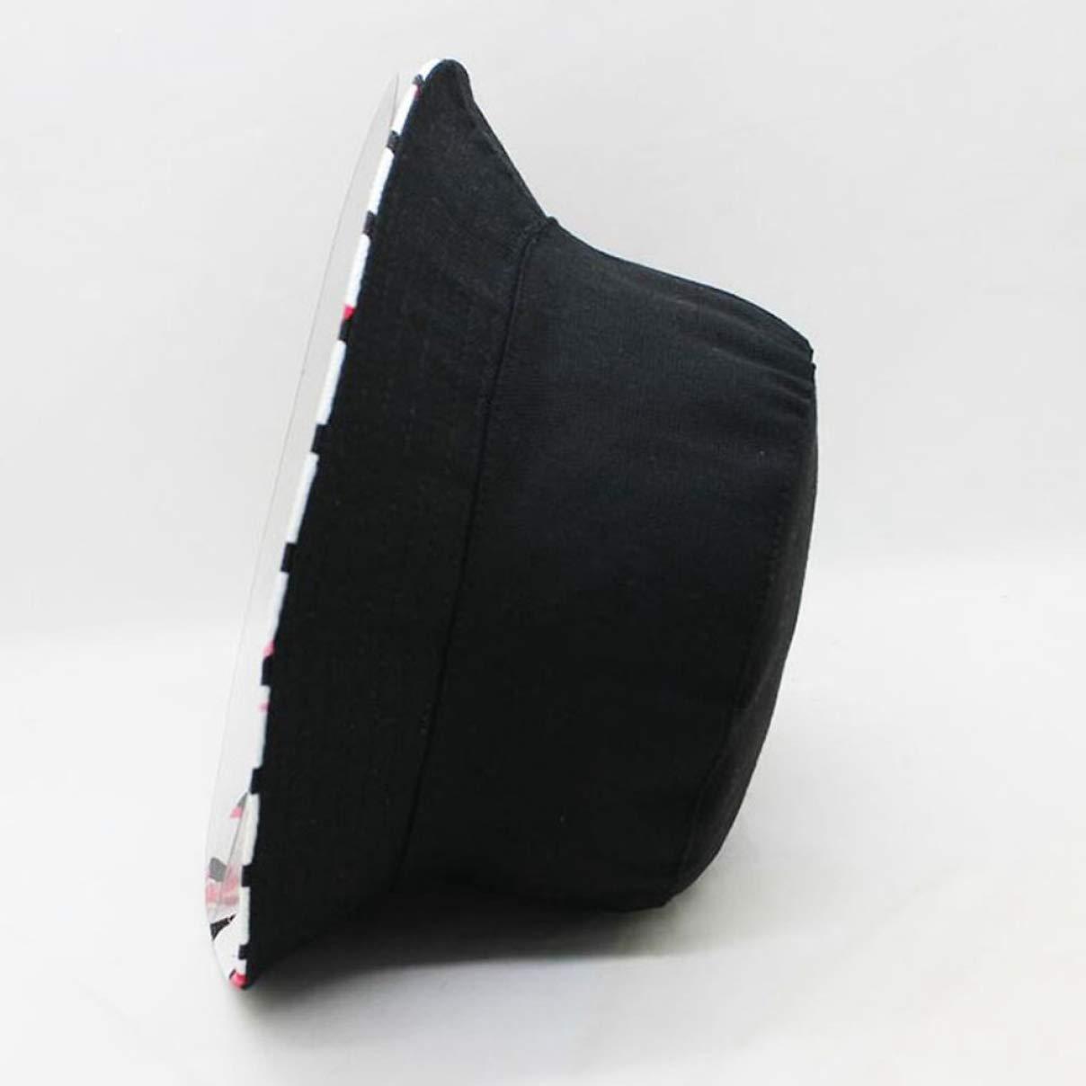 hangzhou Chapeau de s/écurit/é imprim/é Flamant Rose pour Femme Chapeau de p/êche en Coton