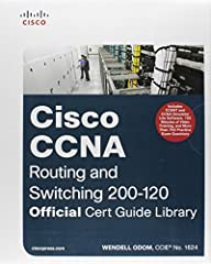 Cisco Press is the official publisher for the New CCENT & CCNA Routing and Switching Certifications. The New Edition of the Best-Selling two-book value priced CCNA Official Cert Guide Library includes Updated Content, New Exercises, 8 P...