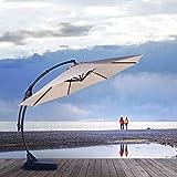 Grand patio Napoli Deluxe 11 FT Offset Umbrella
