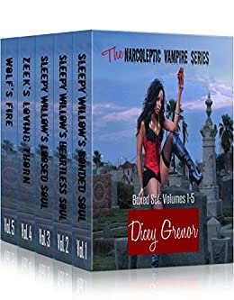 The Narcoleptic Vampire Series Boxed Set - 5 Volumes by [Grenor, Dicey]