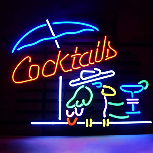 MOCHEN LED Neon, Hanging Cocktail Metal Frame Neon 16