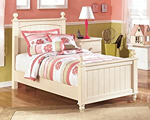 Great Ashley Furniture Signature Design   Cottage Retreat Poster Headboard    Queen/Full   Casual   Cream