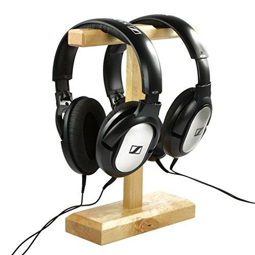 COSMOS Universal Wooden Headphone Hanger