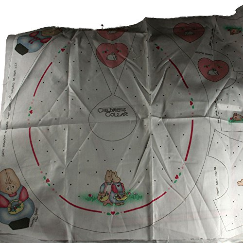 (Daisy Kingdom Honey Bunny Collection Childrens Collar Fabric)