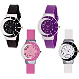 Swadesi Stuff Analogue Multicolor Dial Women's & Girl's Combo Of 4 Watch