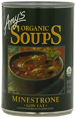 - Amy's Organic Minestrone Soup 14.1 Oz [Pack of 6]