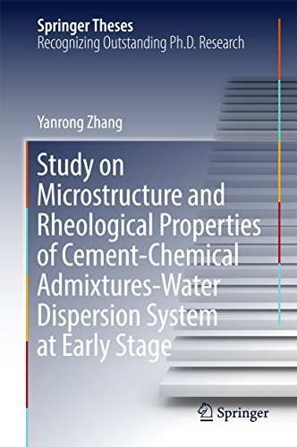 Study on Microstructure and Rheological Properties of Cement-Chemical Admixtures-Water Dispersion System at Early Stage (Springer Theses) (Emulsion Conditioning)