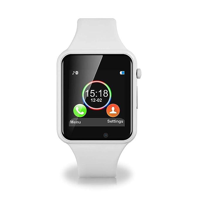 Amazon.com: KKCITE Bluetooth Touchscreen Smartwatch ...