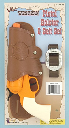 Forum Novelties Single Toy Gun Holster Set