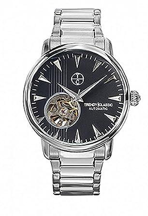 Trendy Classic Automatic – cm-1021 – 02 – Automatikuhr – Armband Edelstahl Silber