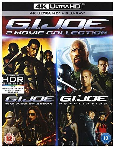 G. I. Joe (4K UHD) [Blu-ray] [2018] [Region Free] (Gi Joe The Movie Blu Ray)